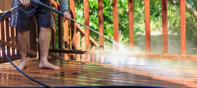 What's The Best Way To Clean A Deck?
